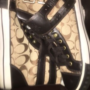 Coach High tip Sneakers